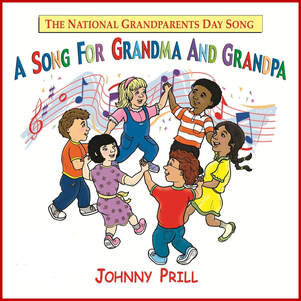 The official song of National Grandparents Day is A Song for Grandma and Grandpa by Johnny Prill. The MP3 download includes sheet music and karaoke (backing) tracks. It is popular with school programs and is one of the best kids songs for honoring grandparents.